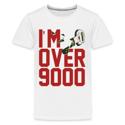 I'M OVER 9000 Kids T - Kids' Premium T-Shirt