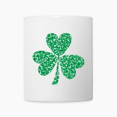 Multiple-Shamrocks-In-a-Shamrock.png Mugs & Drinkware