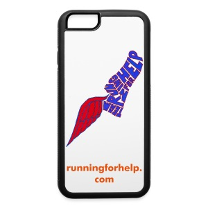 Running for Help Winged Shoe iPhone 6 Rubber Case  - iPhone 6/6s Rubber Case