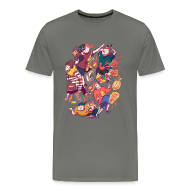 T-Shirts ~ Men's Premium T-Shirt ~ Wreckless Collage Shirt