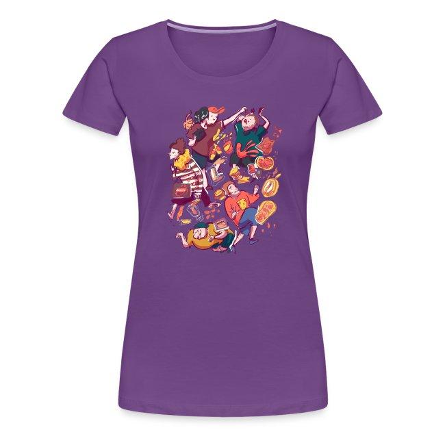 Wreckless Collage Shirt (Women's)