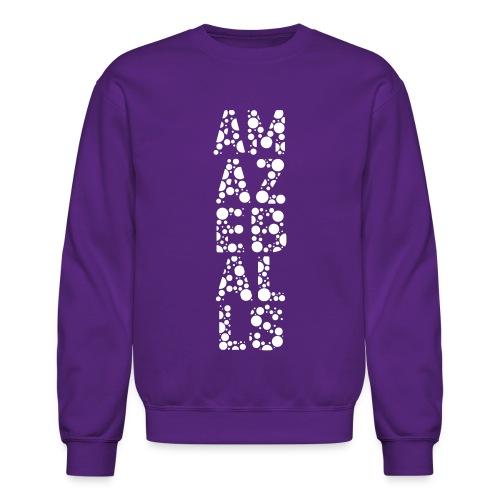 Amazeballs - Purple - Crewneck Sweatshirt