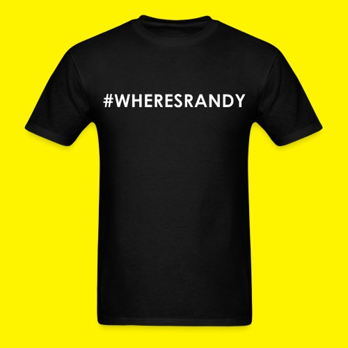 #WheresRandy - Men's T-Shirt
