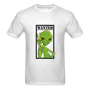 Alien Wanted - Men's T-Shirt