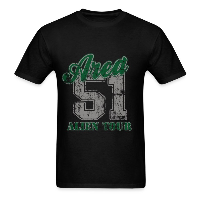 Area 51 Alien Tour - Men's T-Shirt