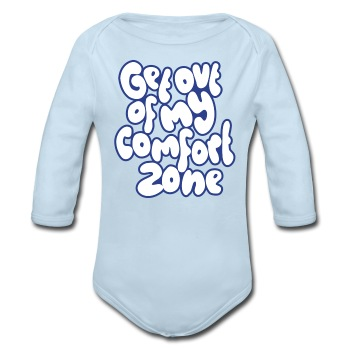 Comfort zone - boys - Long Sleeve Baby Bodysuit