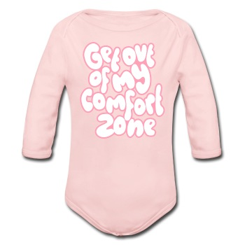 Comfort zone - girls - Long Sleeve Baby Bodysuit