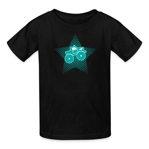 Monster Truck Star - Kids' T-Shirt