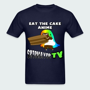 Eat the cake.... - Men's T-Shirt