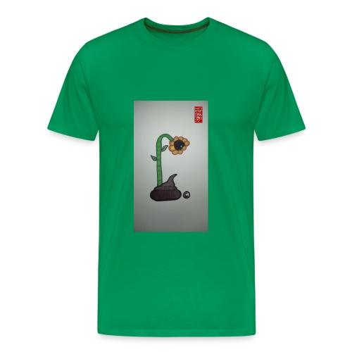 Sunflowers and Shit - Men's Premium T-Shirt