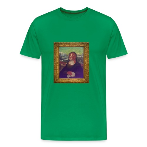 Green Mocha Lisa T-shirt - Men's Premium T-Shirt