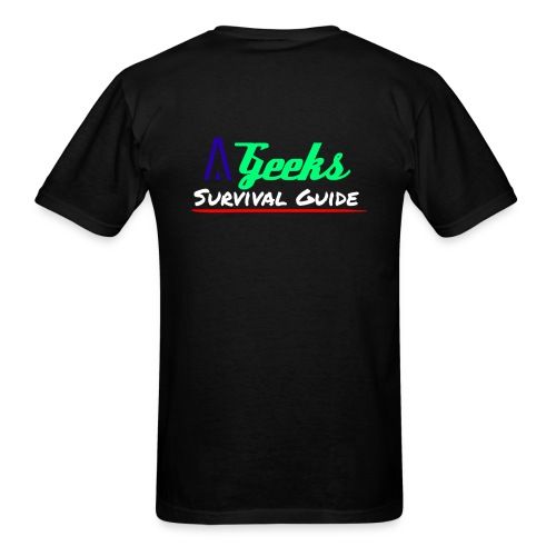 A Geeks Survival Guide - Men's T-Shirt