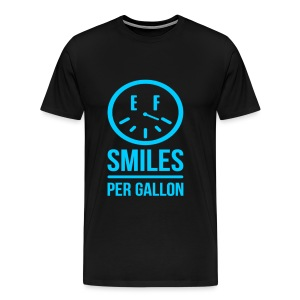 Smiles per Gallon T-Shirt V2!  - Men's Premium T-Shirt