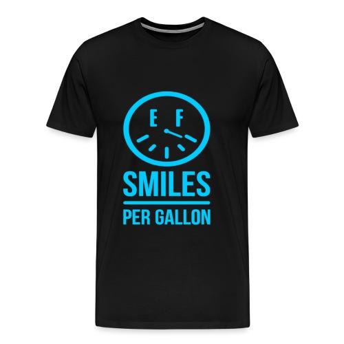 Smiles per Gallon T-Shirt V2!  - Men's Premium T-Shirt