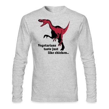 Tasty chicken - Men's Long Sleeve T-Shirt by Next Level