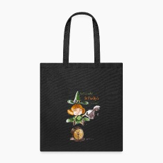 St Patrick' day Tote bag - Wicked Witches