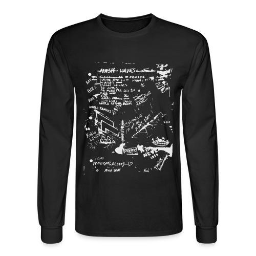 Notebook long sleeve tee - Men's Long Sleeve T-Shirt