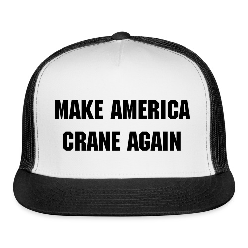 Make America Crane Again red trucker cap - Trucker Cap