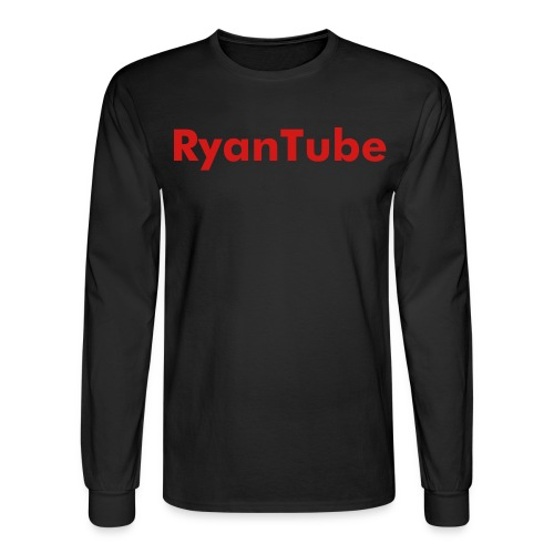 RyanTube Long Sleeve T Shirt - Men's Long Sleeve T-Shirt