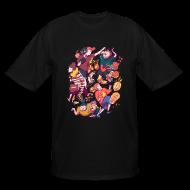 T-Shirts ~ Men's Tall T-Shirt ~ Wreckless Collage Shirt