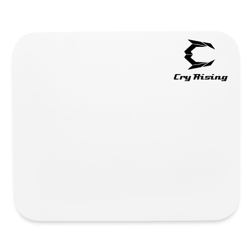 Cry rising Mouse pad (Black on White) - Mouse pad Horizontal