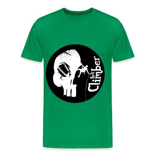 climber skull - Men's Premium T-Shirt