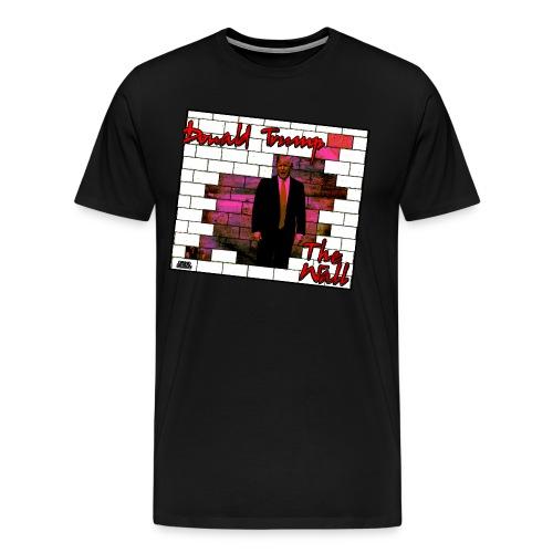 Donald Trump - The Wall 2016 - Men's Premium T-Shirt