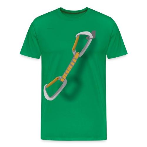 carabiner - Men's Premium T-Shirt
