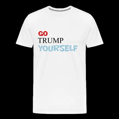 Go TRUMP yourself - Men's Premium T-Shirt