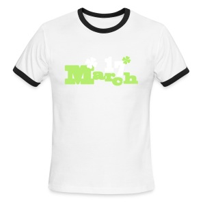 March 17 st.Patrick's day Men's Ringer T-Shirt - Men's Ringer T-Shirt