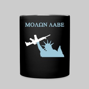 Liberty Mug, Black/Blue - Full Color Mug