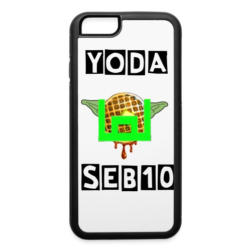 yodaseb10 case with text - iPhone 6/6s Rubber Case
