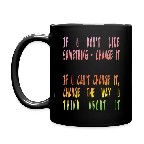 Change the way you think - Full Color Mug