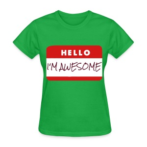 Women's Awesome T Shirt - Women's T-Shirt