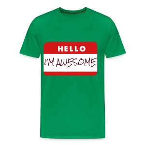 Men's Awesome T Shirt - Men's Premium T-Shirt