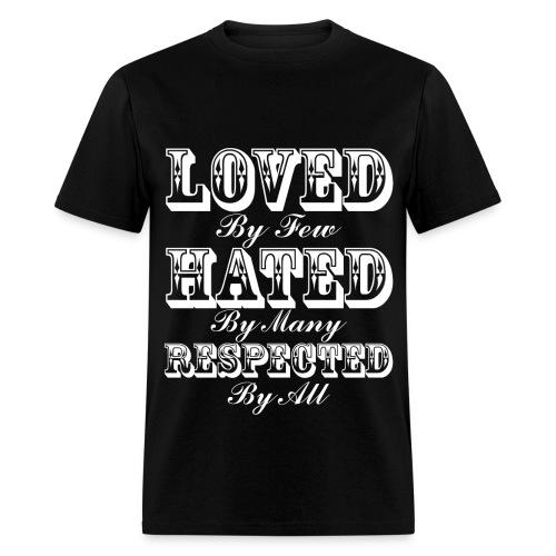 Love-Hate-Respect - Men's T-Shirt