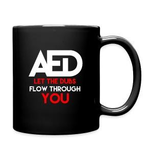 ALL EYEZ DUBSTEP FUN MUG - Full Color Mug