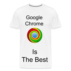 Men's Google Chrome T Shirt - Men's Premium T-Shirt