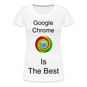 Women's Google Chrome T Shirt - Women's Premium T-Shirt