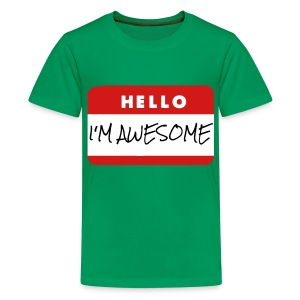 Child's Awesome T Shirt - Kids' Premium T-Shirt
