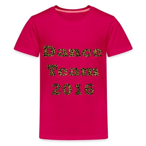 Dance Team 2016 - Children's Pink - Kids' Premium T-Shirt