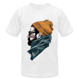 Bearded Guy 1 - Men's Fine Jersey T-Shirt