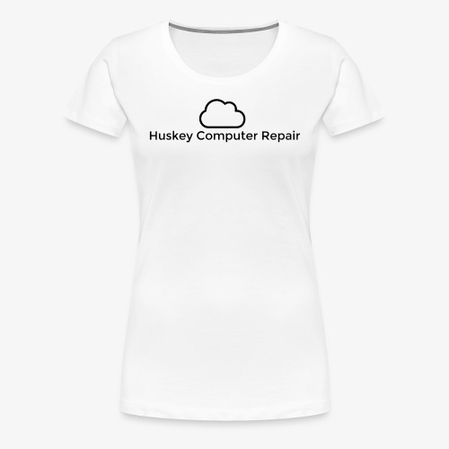 Huskey Computer Repair Official T-Shirt Womens - Women's Premium T-Shirt