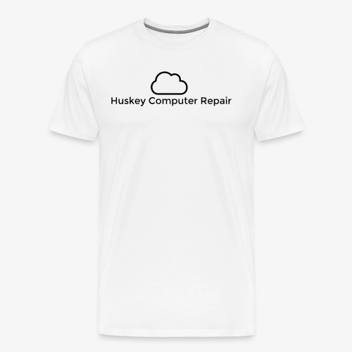 Huskey Computer Repair Official T-Shirt Mens - Men's Premium T-Shirt