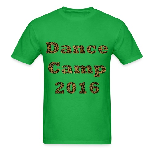 Dance Camp 2016 - Cheetah - Men's T-Shirt