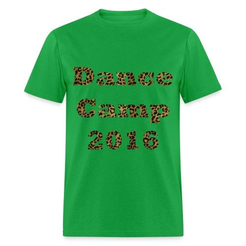 Dance Camp 2016 - Cheetah - Men's T-Shirt