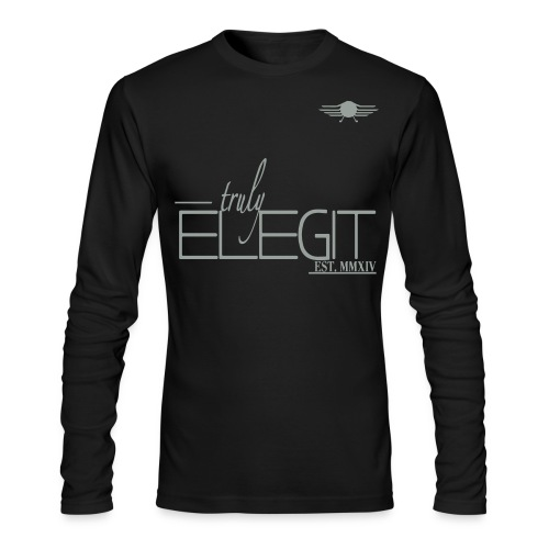Truly Elegit P.R - Men's Long Sleeve T-Shirt by Next Level