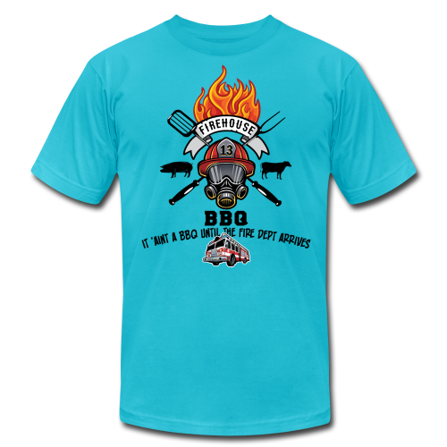 Firehouse BBQ - Men's Fine Jersey T-Shirt