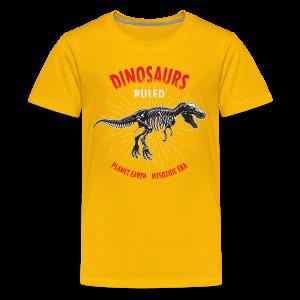 Dinosaurs Ruled - Kids' Premium T-Shirt