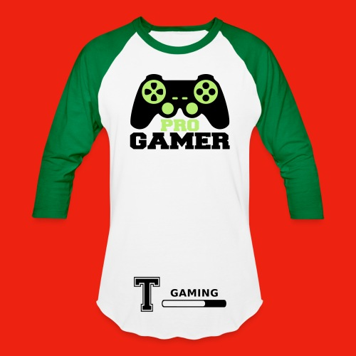 TYRO GAMING MEN BASEBALL T-SHIRT - Baseball T-Shirt
